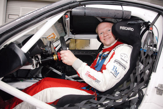 Martin Westerhoff im BMW Z4 GT3