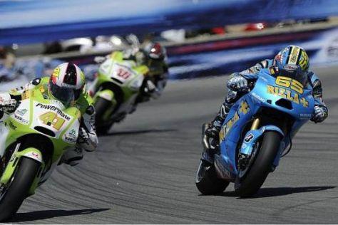 Loris Capirossis (r.) Wechsel zu Pramac-Ducati ist nur noch Formsache