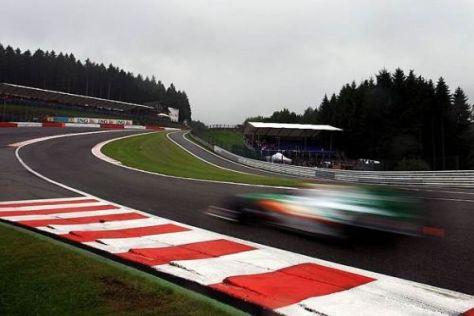 Im vergangenen Jahr kamen zu wenige Fans zum Grand Prix von Belgien