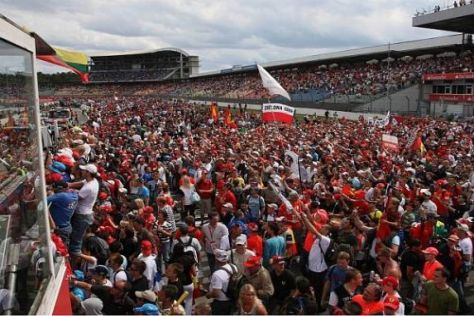 Die zahlreichen Fans in Hockenheim sorgten für eine gute Bilanz