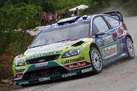 Mikko Hirvonen geht mit viel Respekt an die Rallye Deutschland