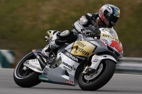 Alex de Angelis peilt für das Rennen ein Top-10-Ergebnis an