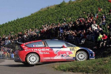 Sébastien Loeb konnte die Hatz durch die Weinberge seit 2002 immer gewinnen