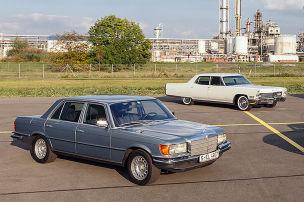 Hubraumstarker Ami schlägt den Daimler