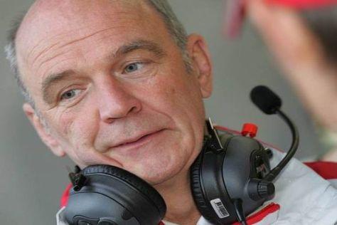 Wolfgang Ullrich ärgert sich über die verschenkten Punkte in der DTM