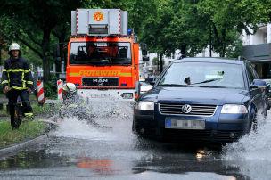 Sturm legt Verkehr lahm