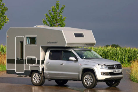 vw amarok mit wohnkabine. Black Bedroom Furniture Sets. Home Design Ideas