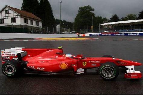 Fernando Alonso will den Zeiten vom Freitag nicht allzu viel beimessen