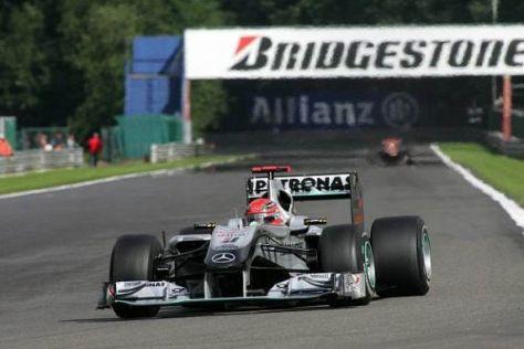 Michael Schumacher hofft auf eine ähnliche Aufholjagd wie beim Sieg 1995