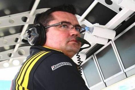 Renault-Teamchef Eric Boullier ist mit den Fortschritten hoch zufrieden