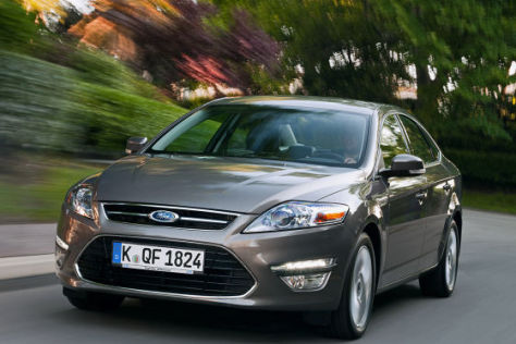 Ford Mondeo Facelift 2011 Erster Fahrbericht Autobild De
