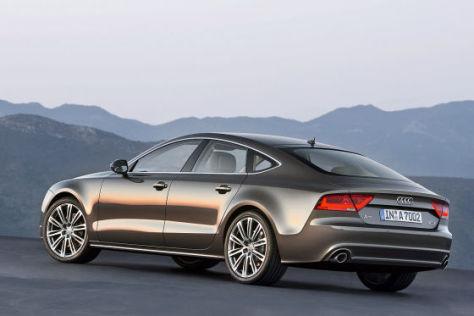 Fahrbericht Auto Bild War Mit Dem Neuen Audi A7 Unterwegs