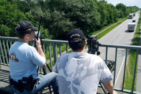 Verkehrsüberwachung: Kameras