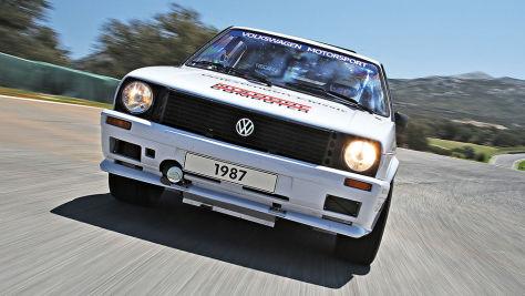 VW Golf Pikes Peak: Test