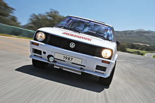 VW Golf Pikes Peak: Test