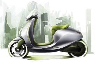 Zwei E-Roller für Paris