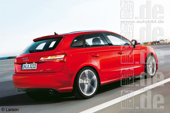 Audi A3 Illustration