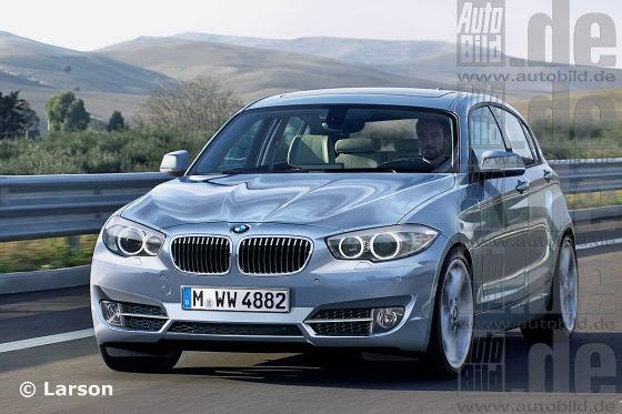 BMW 1er Illustration
