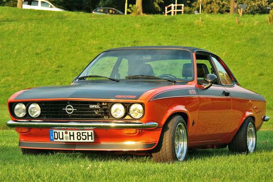 Opel Manta A GT/E 1975