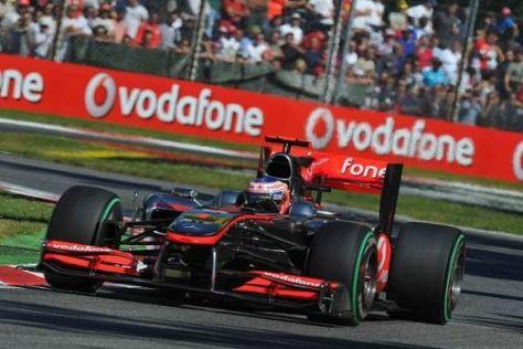 Jenson Button träumt bereits vom Monza-Sieg und von der Titelverteidigung