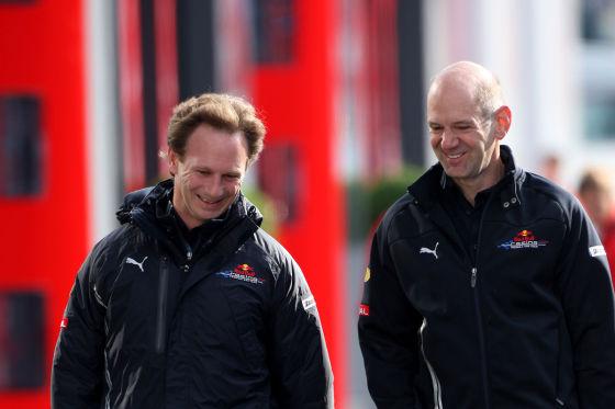 Christian Horner und Adrian Newey