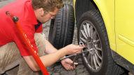 Reifen und Alufelgen lagern
