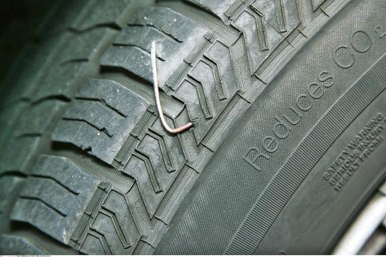 Sichtkontrolle von Reifen und Felgen