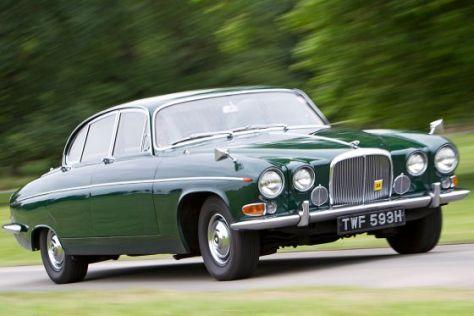 Jaguar 420G von 1966, Fat Cat, die Nummer größer - autobild.de