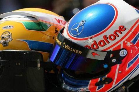Lewis Hamilton und Jenson Button dürfen weiterhin frei gegeneinander fahren