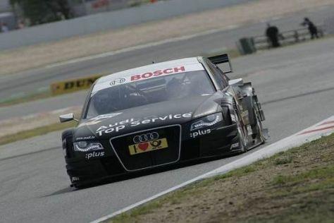 Timo Scheider führte im ersten Training ein Audi-Quartett an