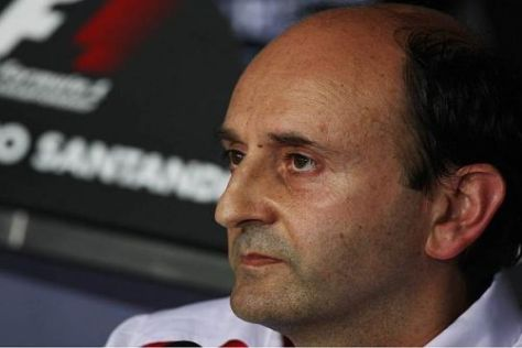 Luca Marmorini sieht das neue Reglement ab 2013 etwas skeptisch