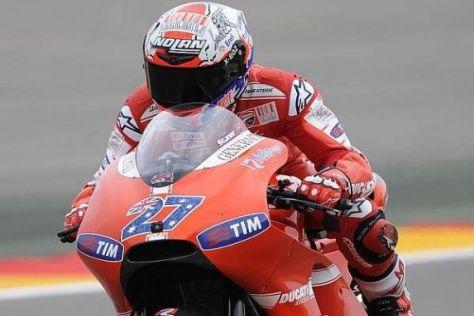 Casey Stoner startet als Favorit in den Grand Prix von Aragonien