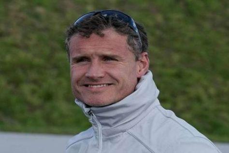 Die warme Jacke wird David Coulthard in Singapur wohl nicht brauchen