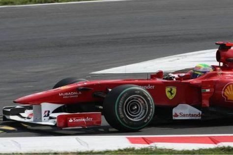 Felipe Massa möchte seinen Ferrari in Singapur möglichst weit vorne platzieren