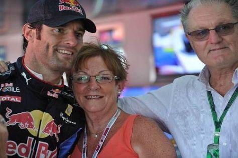 Mark Webber möchte sich eines Tages mehr Zeit für seine Familie nehmen