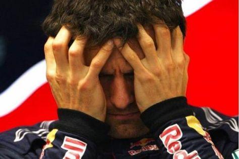 Mark Webber hatte heute nicht den Hauch einer Chance gegen Sebastian Vettel