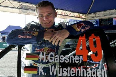 Hermann Gassner Jr. will auch bei der Rallye Frankreich in die Top 5