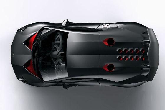 Lamborghini-Studie Sesto Elemento