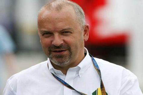Mike Gascoyne soll bis 2015 Technikchef bei Lotus bleiben
