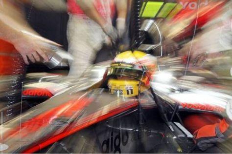 Lewis Hamilton hat im WM-Kampf weniger als einen ganzen Sieg Rückstand