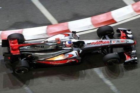 Jenson Button will sich mit einem guten Ergebnis weiter im Titelrennen halten