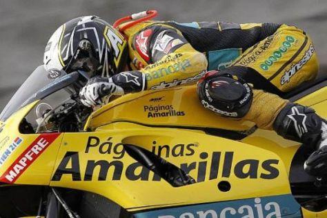 Héctor Barberá und sein gelbes Bike wollen in Malaysia wieder in Topform agieren
