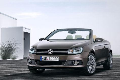Vw Eos Facelift 2011 Premiere Auf Der La Auto Show 2010 Autobild De