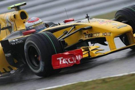Vitaly Petrov und das Renault-Team wollen beim Südkorea-Event zurückschlagen