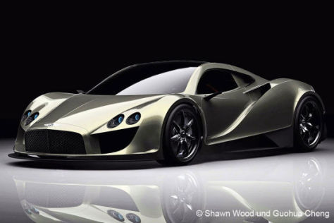Bentley Silver Wings Concept Sportwagen Vision Aus China