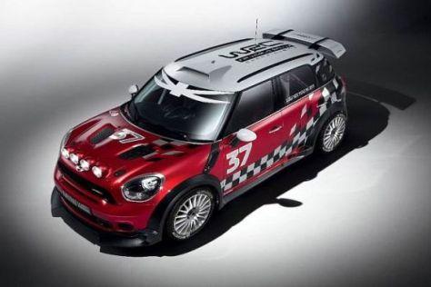 Der neue MINI wird in der Saison 2011 mit ATS-Rädern in die Rallye-WM einsteigen