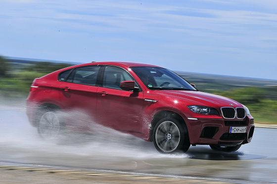 BMW X6 M Seitenansicht