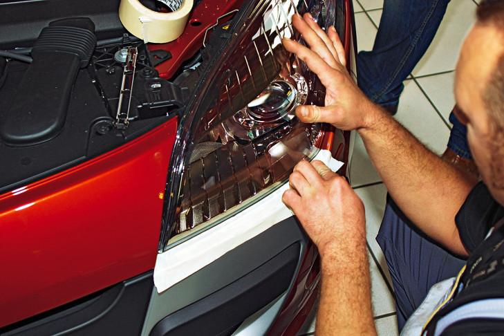 Gl 252 Hlampenwechsel Am Auto Bilder Autobild De