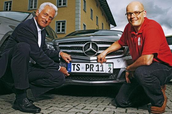 Peter Ramsauer und Claudius Maintz