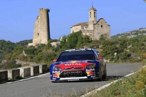 Sébastien Loeb kommt als siebenmaliger Weltmeister nach Spanien